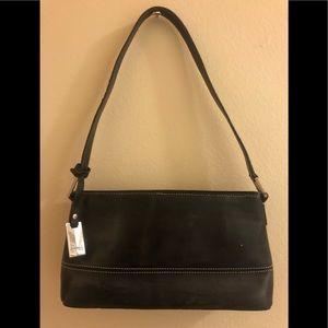 Harrod's leather bag